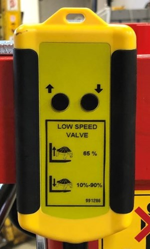 Low Speed Valve 2